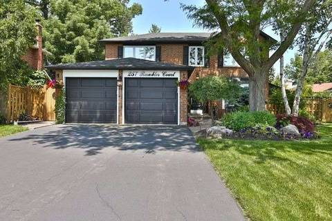House for sale at 257 Rambler Ct Oakville Ontario - MLS: W4496289