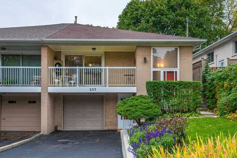 Townhouse for sale at 257 Woodsworth Rd Toronto Ontario - MLS: C4703679