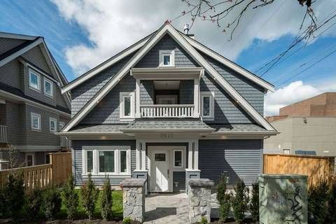 Townhouse for sale at 2577 St.george St Vancouver British Columbia - MLS: R2359885