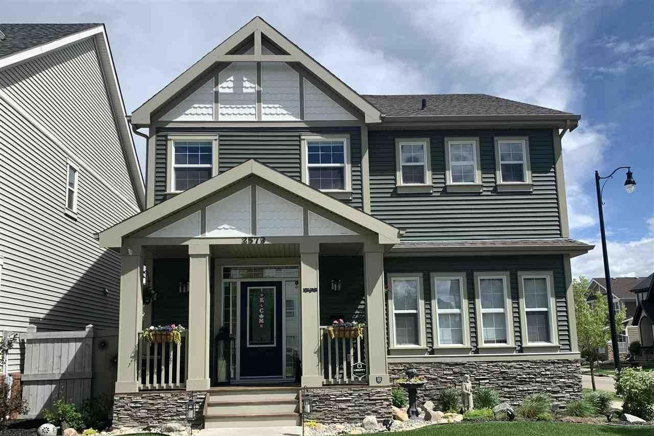 House for sale at 2579 Pegasus Bv NW Edmonton Alberta - MLS: E4202511