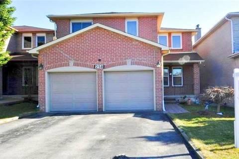 House for rent at 258 Brickstone (bsmt) Circ Vaughan Ontario - MLS: N4747105