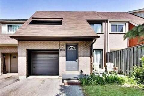 Townhouse for sale at 2589 Inlake Ct Mississauga Ontario - MLS: W4786936