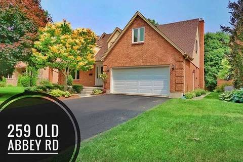 House for sale at 259 Old Abbey Rd Waterloo Ontario - MLS: X4513281