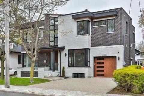House for sale at 2596 Lake Shore Blvd Toronto Ontario - MLS: W4820331
