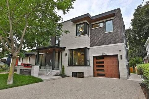 House for sale at 2596 Lake Shore Blvd Toronto Ontario - MLS: W4642561