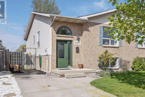 House for sale at 2597 Carissa  Windsor Ontario - MLS: 19018167