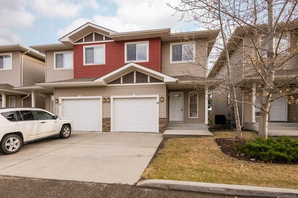 Townhouse for sale at 15151 43 St NW Unit 26 Edmonton Alberta - MLS: E4220259