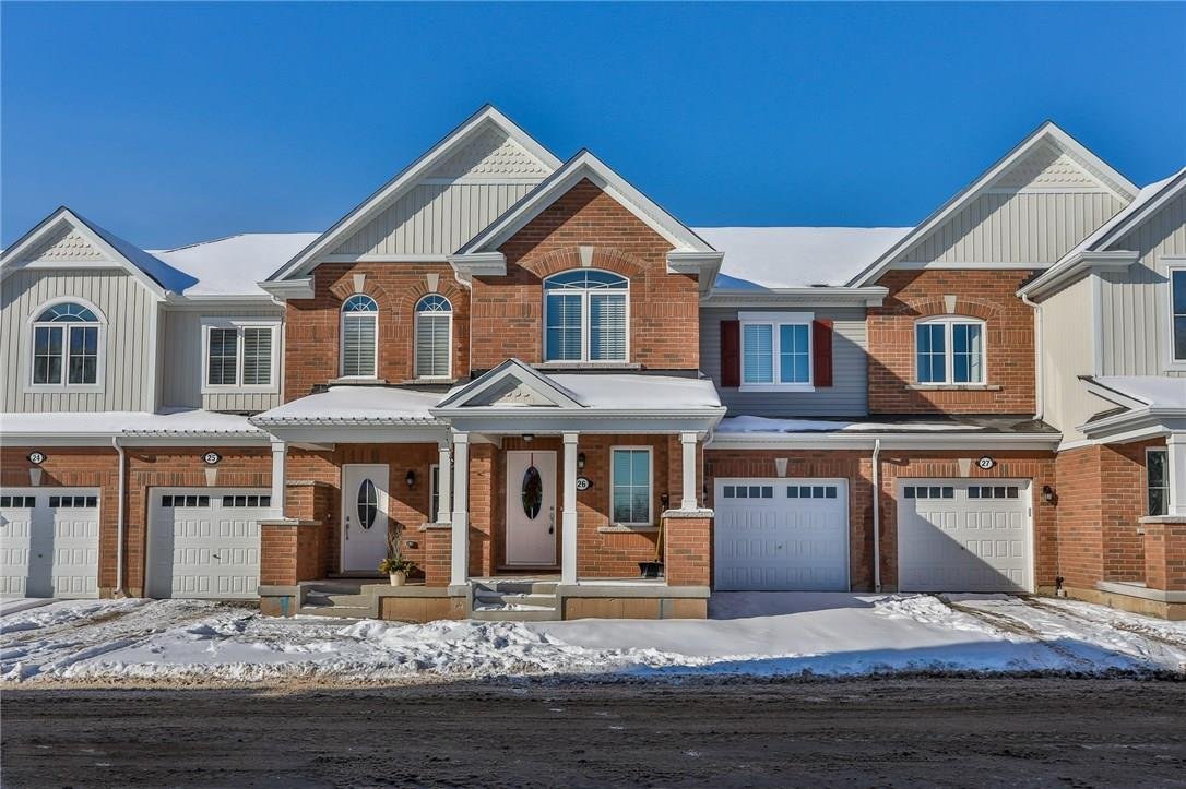 For Sale: 22 Spring Creek Drive, Waterdown, ON | 3 Bed, 3 Bath Townhouse for $599,900. See 36 photos!