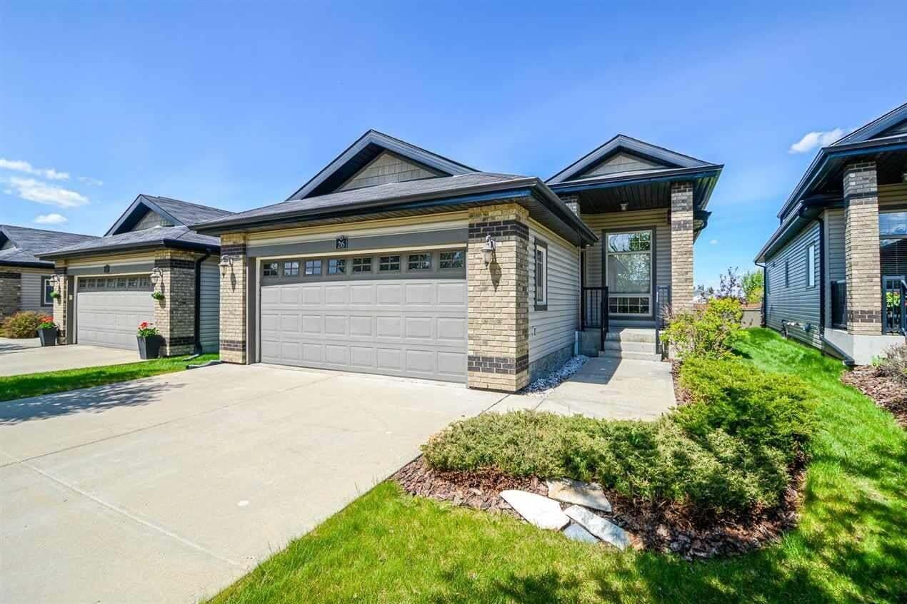 Townhouse for sale at 276 Cranford Dr Unit 26 Sherwood Park Alberta - MLS: E4168076
