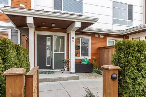 Townhouse for sale at 2958 159 St Unit 26 Surrey British Columbia - MLS: R2349817