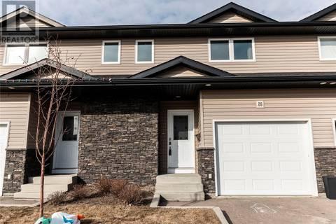 Townhouse for sale at 365 Dawson Cres Unit 26 Saskatoon Saskatchewan - MLS: SK805327