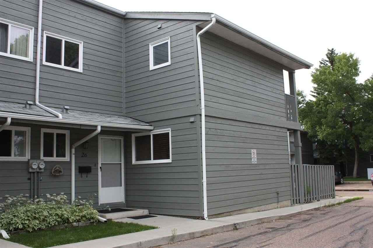 Townhouse for sale at 4610 17 Av NW Unit 26 Edmonton Alberta - MLS: E4205588