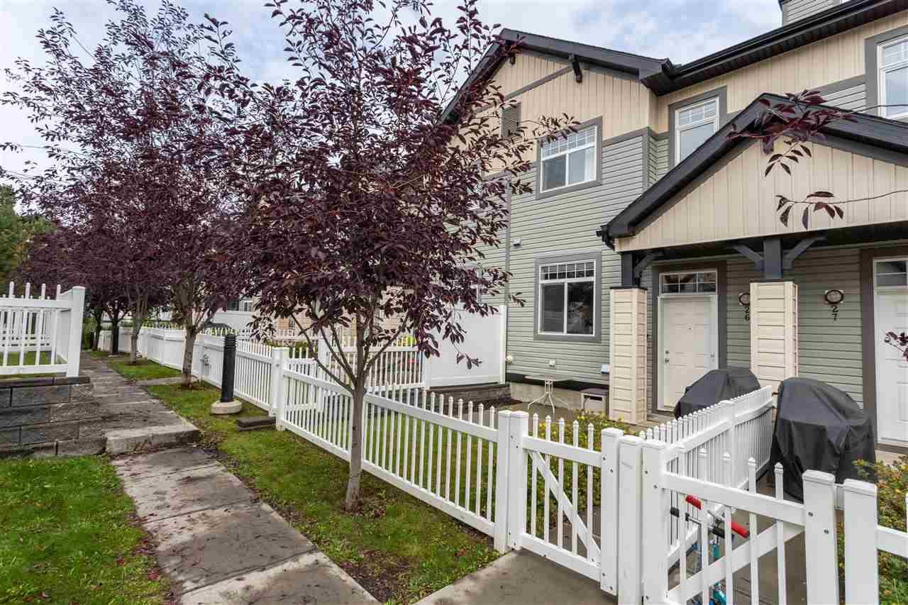 Townhouse for sale at 465 Hemingway Rd Nw Unit 26 Edmonton Alberta - MLS: E4175351