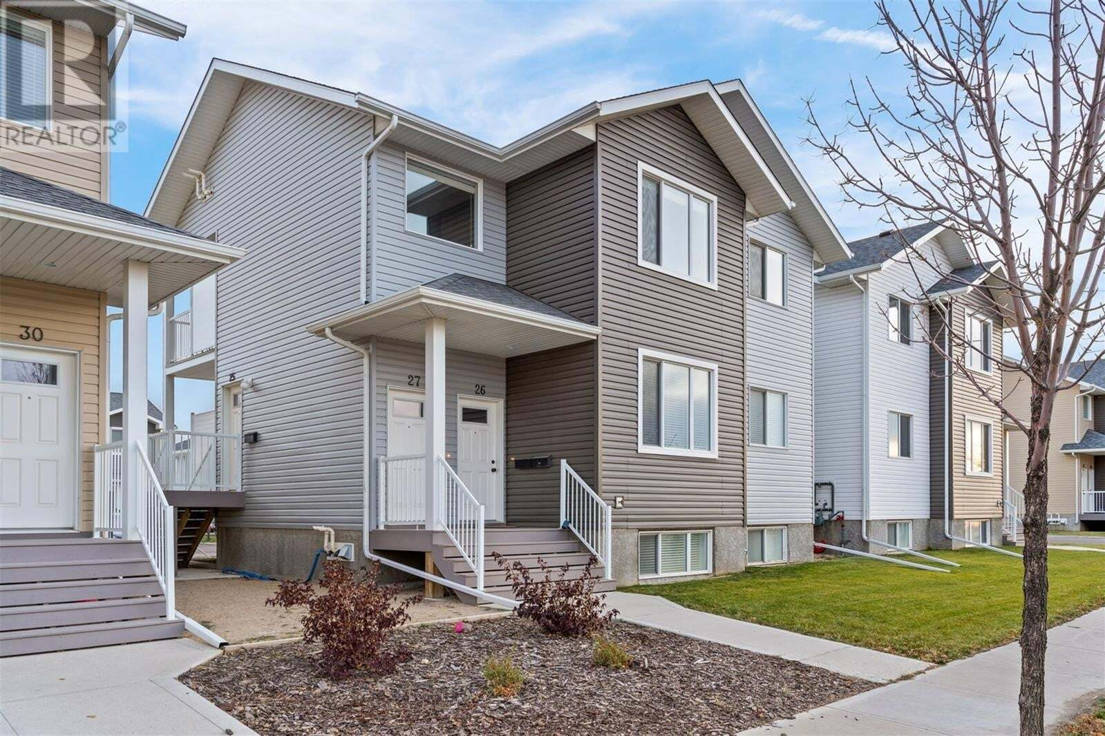 Townhouse for sale at 4850 Harbour Landing Dr Unit 26 Regina Saskatchewan - MLS: SK831045