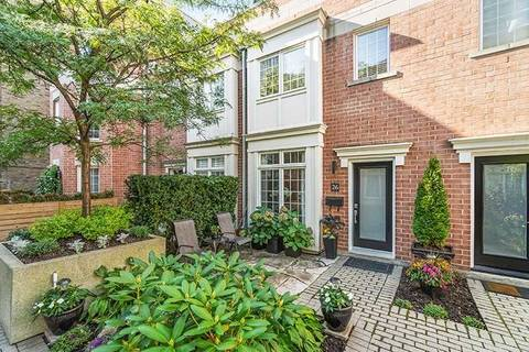 Townhouse for sale at 6 Wellesley Pl Unit 26 Toronto Ontario - MLS: C4609030