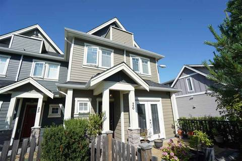 Townhouse for sale at 6331 No. 4 Rd Unit 26 Richmond British Columbia - MLS: R2416302