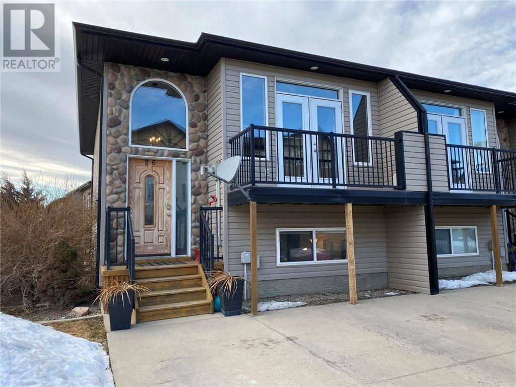 Townhouse for sale at 762 Heritage Blvd W Unit 26 Lethbridge Alberta - MLS: ld0189074