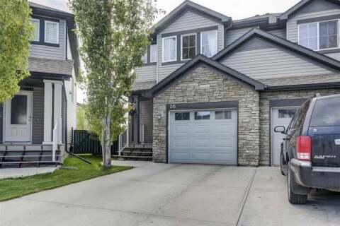 Townhouse for sale at 9231 213 St NW Unit 26 Edmonton Alberta - MLS: E4199030