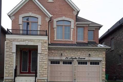 House for rent at 26 Argelia Cres Brampton Ontario - MLS: W4473891