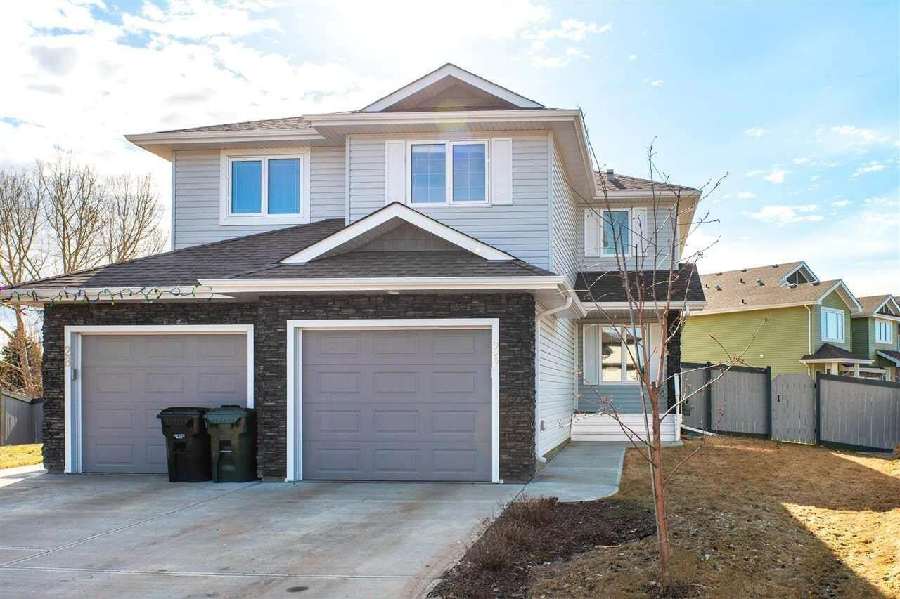 Townhouse for sale at 26 Austin Ct Spruce Grove Alberta - MLS: E4194715