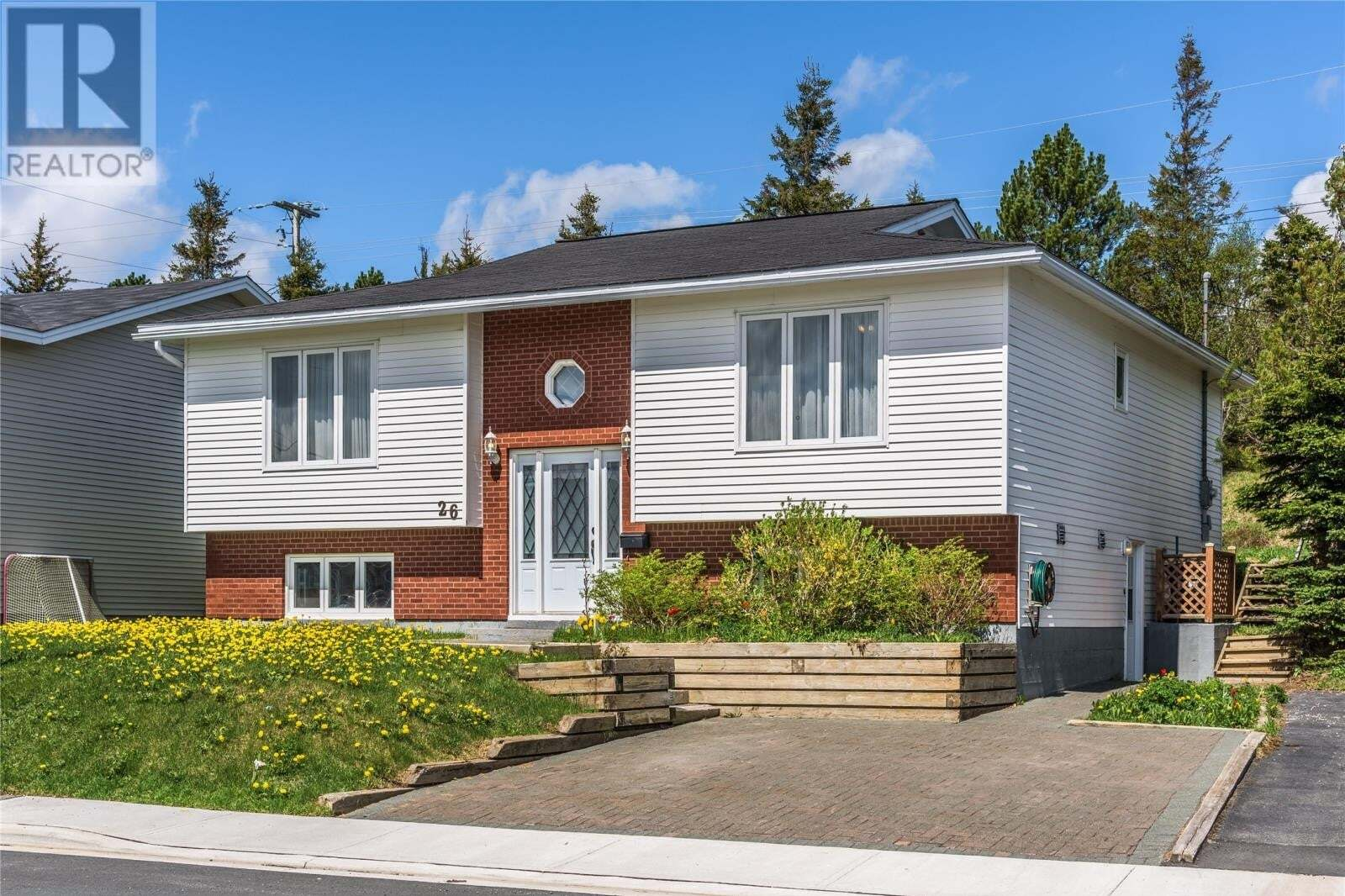 House for sale at 26 Bellevue Cres St. John's Newfoundland - MLS: 1214667