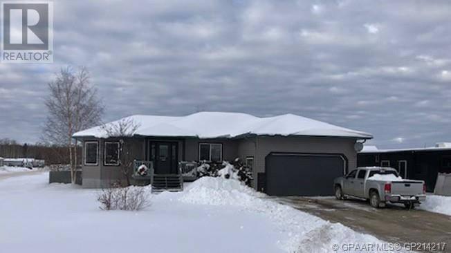 House for sale at 26 Bjornson Ave High Level Alberta - MLS: GP214217