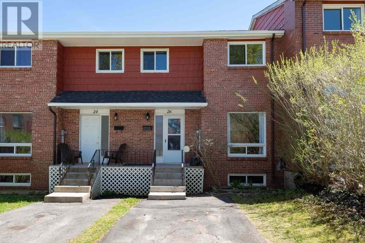 Townhouse for sale at 26 Chadwick Pl Halifax Nova Scotia - MLS: 202008412