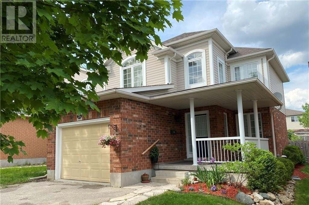 House for sale at 26 Clythe Creek Dr Guelph Ontario - MLS: 30811637