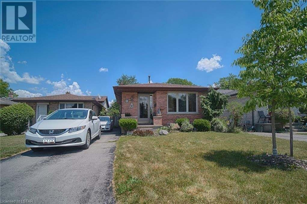 House for sale at 26 Corinth Ct London Ontario - MLS: 269858