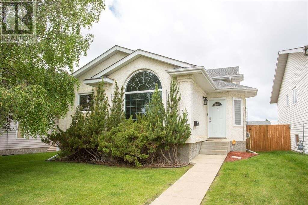 House for sale at 26 Eakins Cres Red Deer Alberta - MLS: A1007954