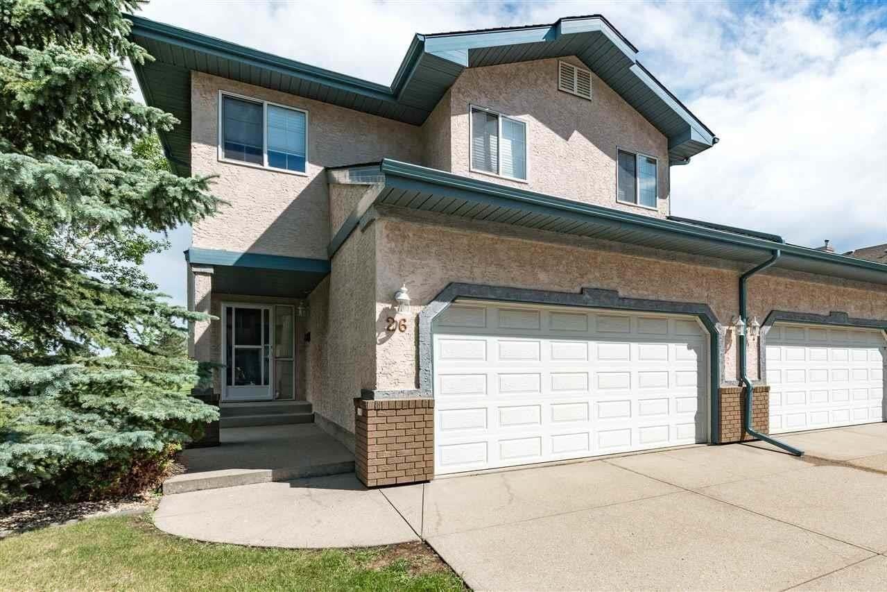 Townhouse for sale at 26 Estates Co Sherwood Park Alberta - MLS: E4209900