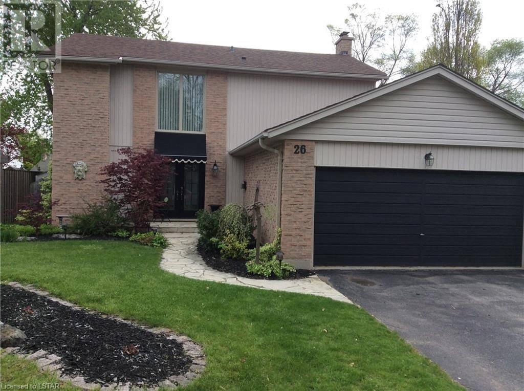 House for sale at 26 Farmington Cres London Ontario - MLS: 245919
