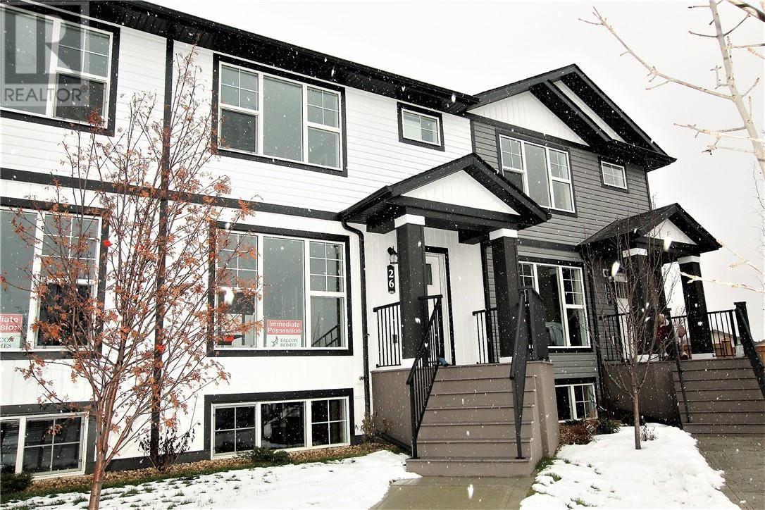 Townhouse for sale at 26 Hawthorn Pl Sylvan Lake Alberta - MLS: ca0183008