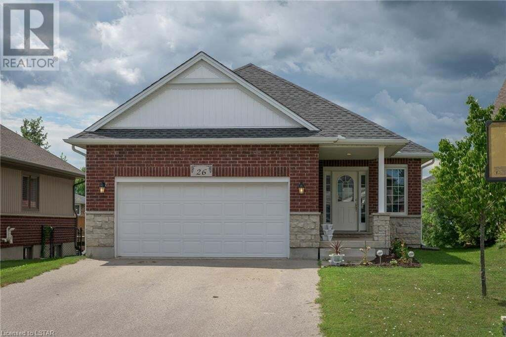 House for sale at 26 Hedges Ct St. Thomas Ontario - MLS: 276426
