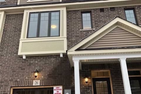 Townhouse for rent at 26 Hibiscus Ln Unit 118 Hamilton Ontario - MLS: X4722742