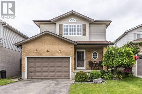 House for sale at 26 Jacqueline Pl Kitchener Ontario - MLS: 30747248