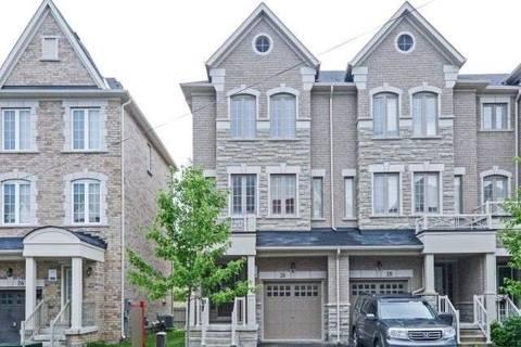 Townhouse for sale at 26 Kayak Hts Brampton Ontario - MLS: W4538068