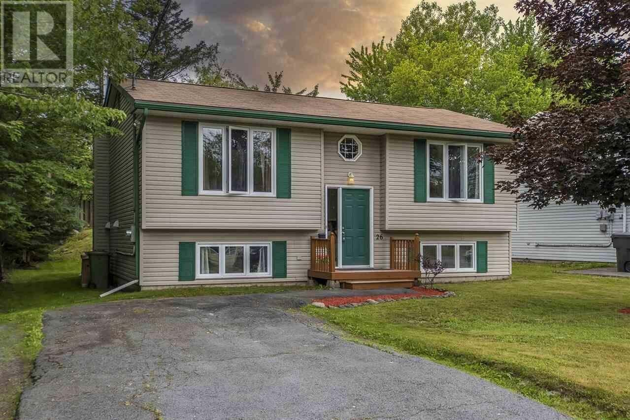 House for sale at 26 Lynwood Dr Dartmouth Nova Scotia - MLS: 202012103
