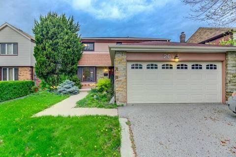 House for sale at 26 Markham St Brampton Ontario - MLS: W4457339