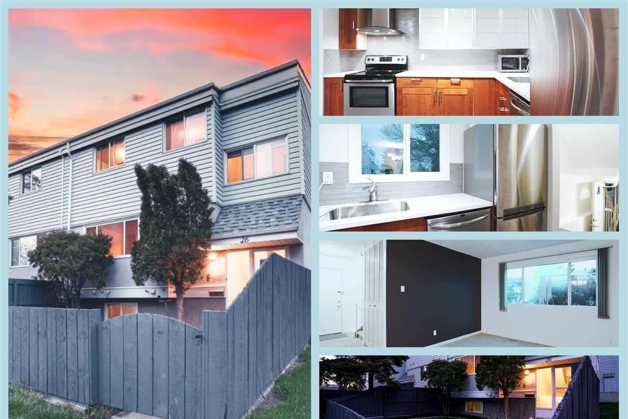 Townhouse for sale at 26 Mcleod Pl NW Edmonton Alberta - MLS: E4197006