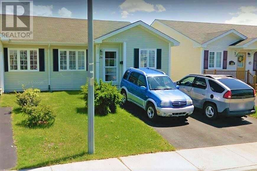 House for sale at 26 Melville Pl St. John's Newfoundland - MLS: 1213926