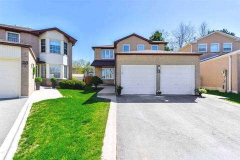 House for sale at 26 Newgreen Cres Brampton Ontario - MLS: W4445459