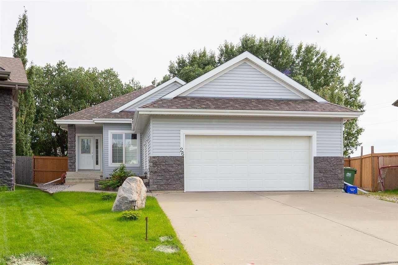 House for sale at 26 Norris Cr St. Albert Alberta - MLS: E4205746