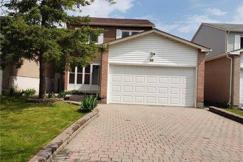 House for sale at 26 Parsonage Dr Toronto Ontario - MLS: E4474952