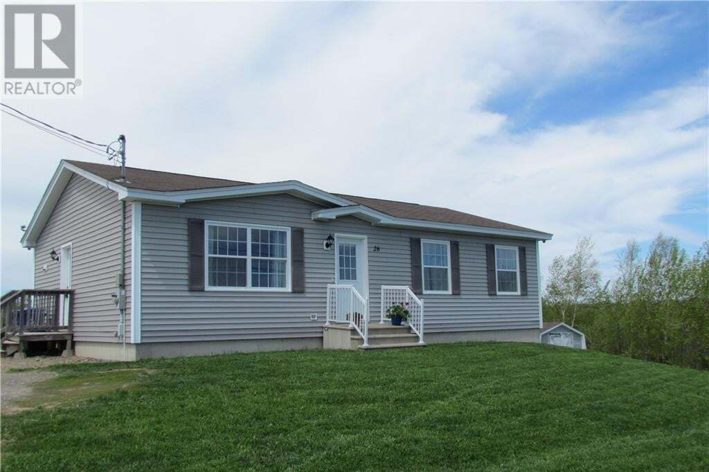 House for sale at 26 Pincher St Bedell New Brunswick - MLS: NB043773
