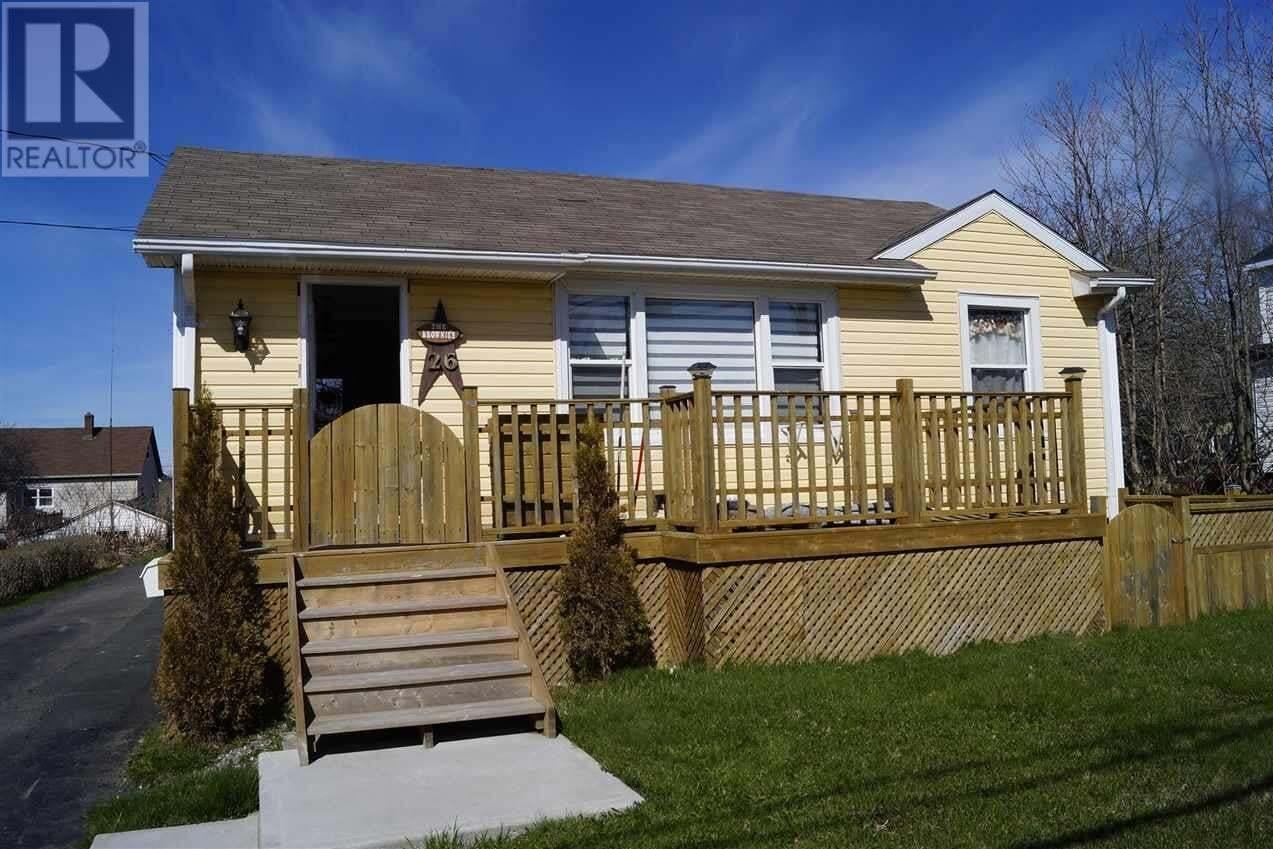 House for sale at 26 Pond Rd Sydney Mines Nova Scotia - MLS: 202008224