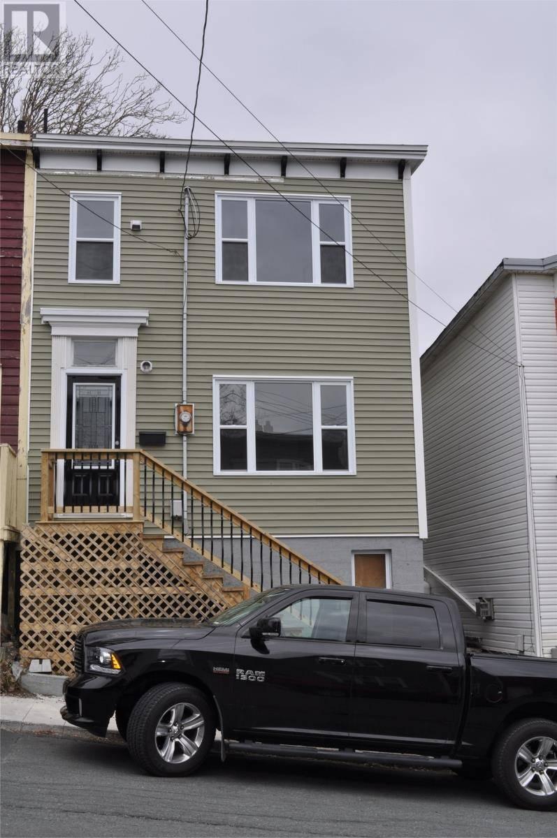 House for sale at 26 Power St St. John's Newfoundland - MLS: 1203155