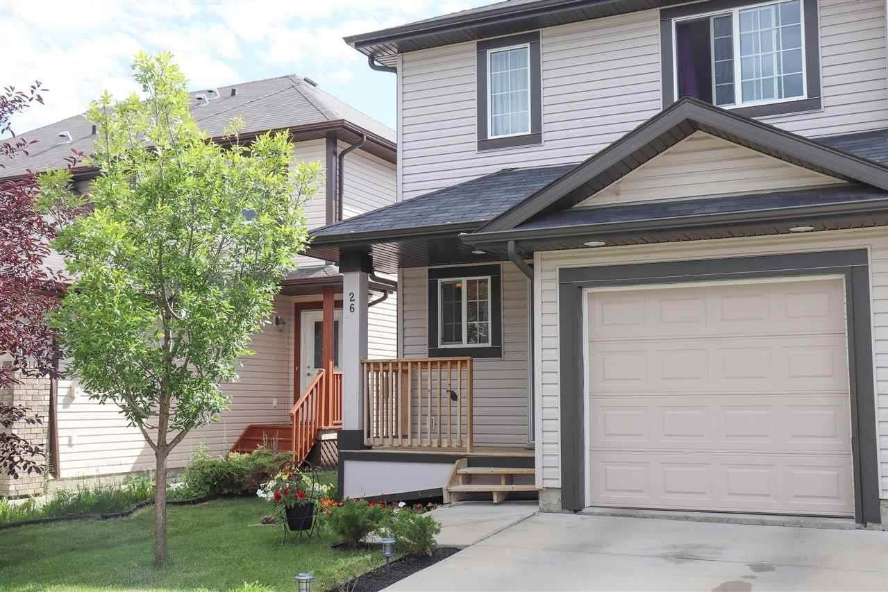 Townhouse for sale at 26 Red Canyon Wy Fort Saskatchewan Alberta - MLS: E4213014