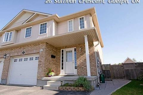 Townhouse for sale at 26 Sullivan Cres Guelph Ontario - MLS: X4543731