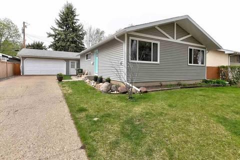 House for sale at 26 Sunnyside Cres St. Albert Alberta - MLS: E4157400